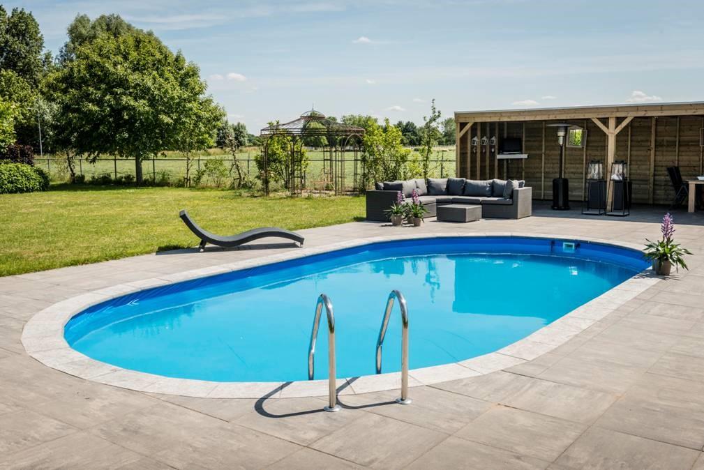 Aanleg tuincentrum de pas for Zwembad leggen